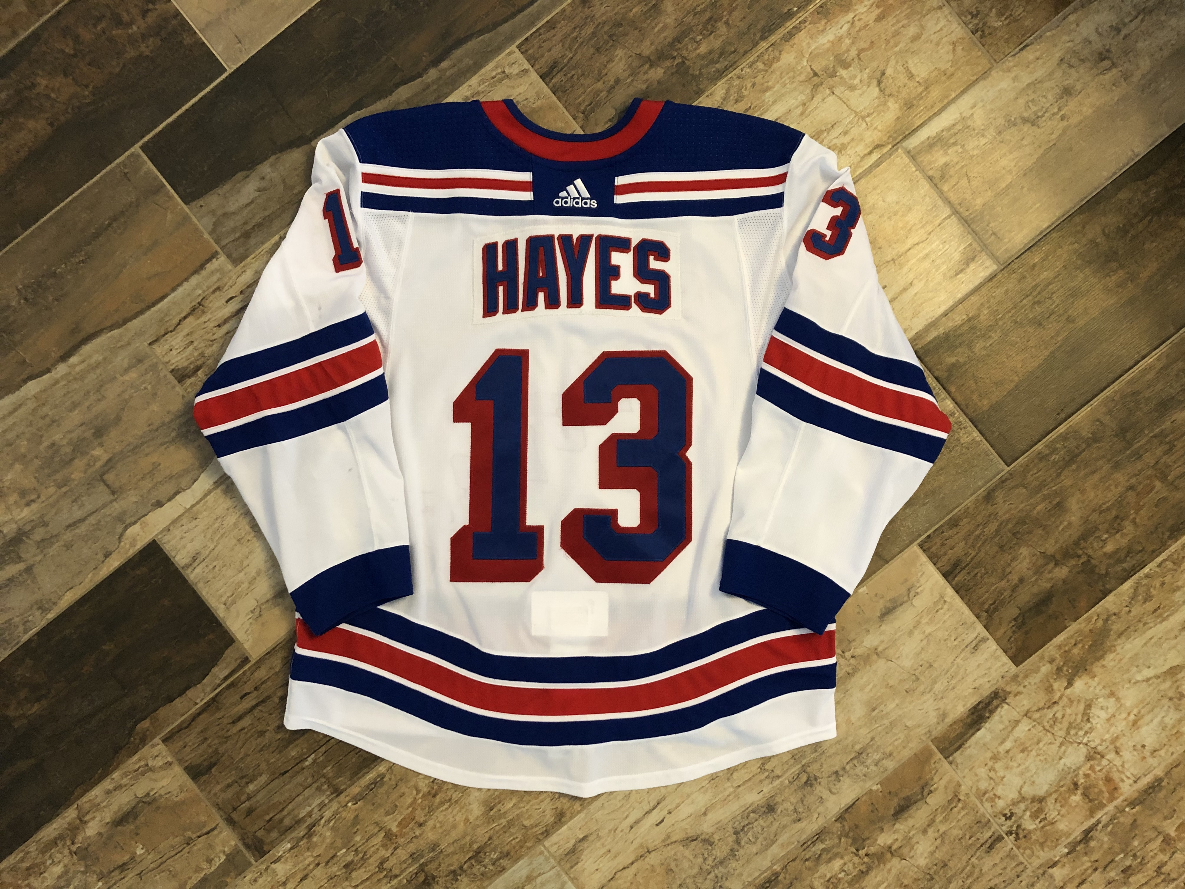 finest selection 5b77d ad4f0 Kevin Hayes #13 New York Rangers 2017-18 – Red Lizard Sports